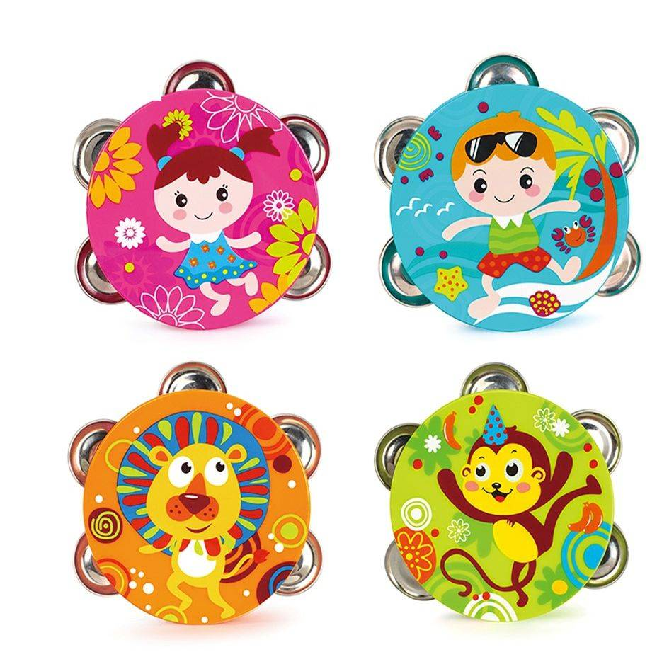 Mainan Bayi - Trimbel Bell / Kerincingan Tamborin