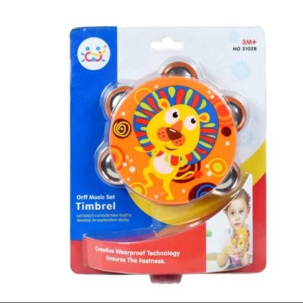 Mainan Bayi - Trimbel Bell / Kerincingan Tamborin1