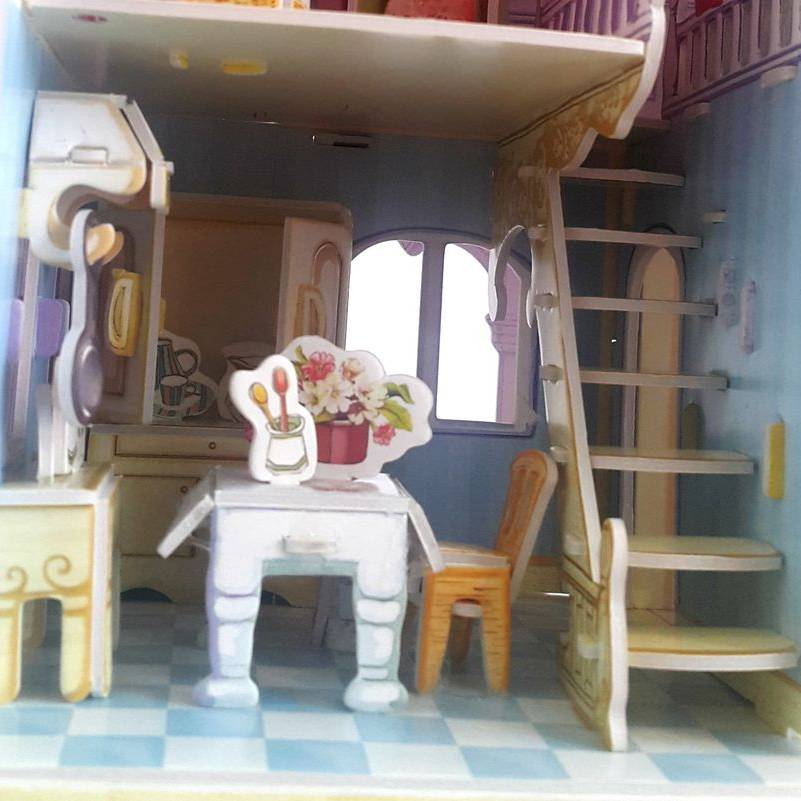 Mainan Anak - 3d Puzzle Carrie's Home2