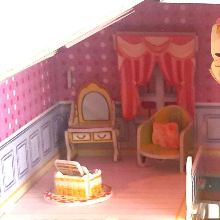 Mainan Anak - 3d Puzzle Carrie's Home4