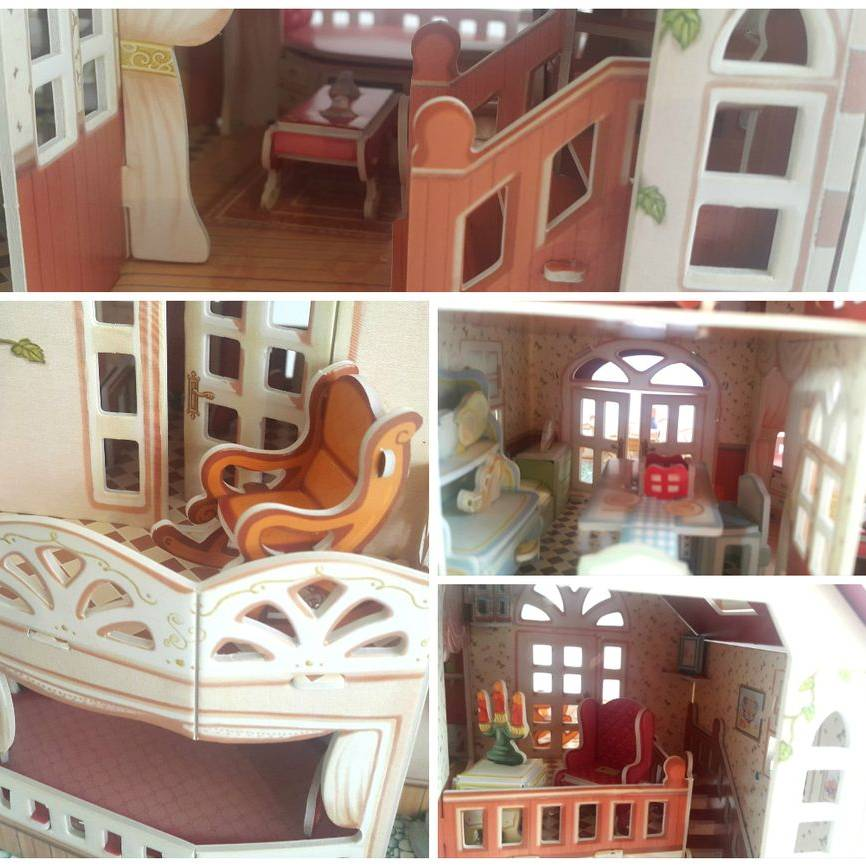 Mainan Anak - 3d Puzzle Holiday Bungalow3