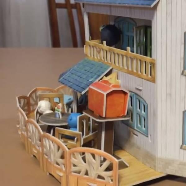 Mainan Anak - 3d Puzzle Rural Villa2