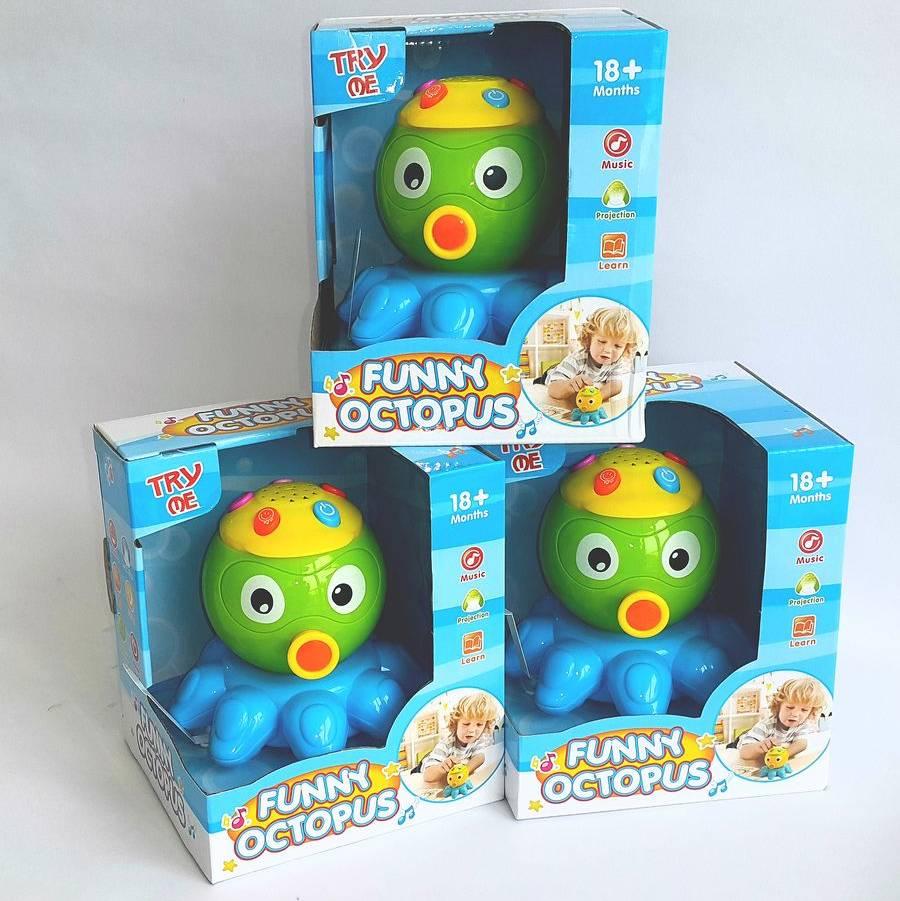 Mainan Balita - Funny Octopus