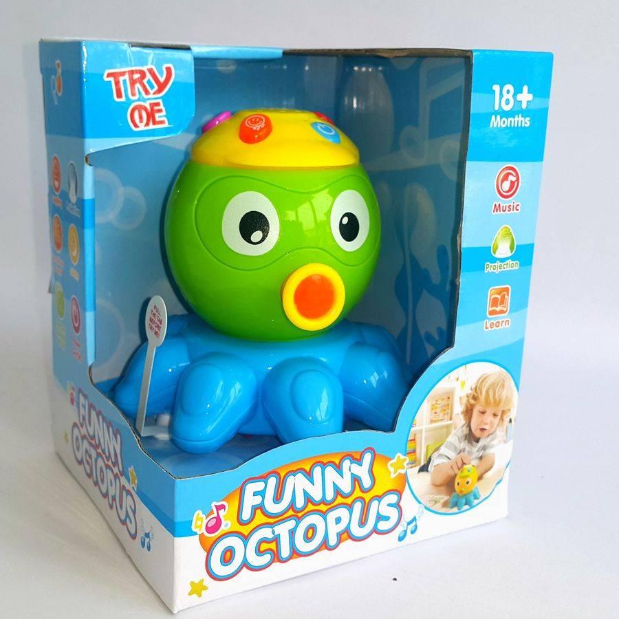 Mainan Balita - Funny Octopus2