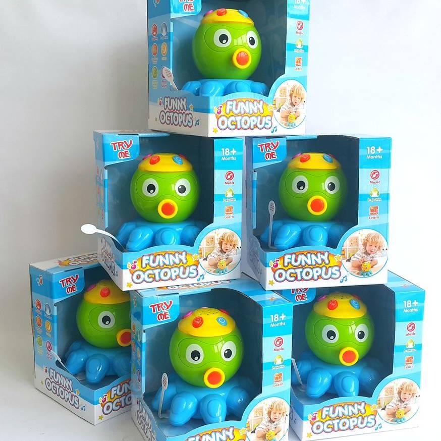 Mainan Balita - Funny Octopus3