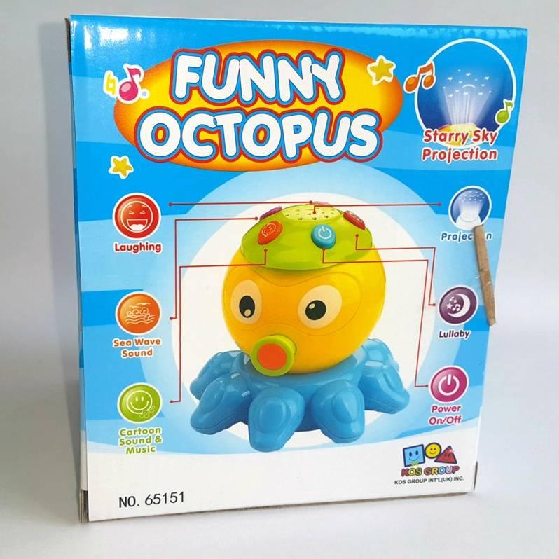 Mainan Balita - Funny Octopus4