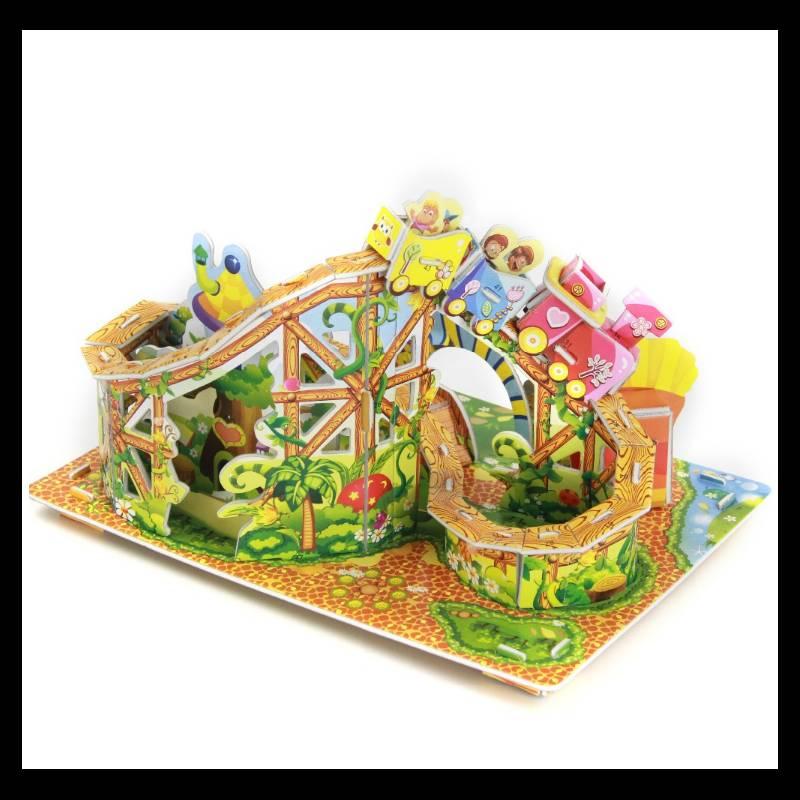 Mainan 3d Puzzle - Roller Coaster2