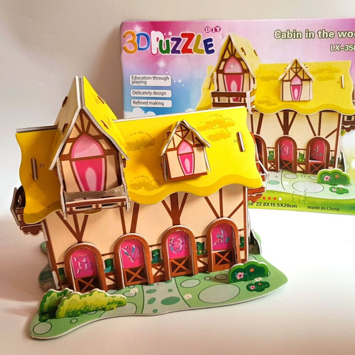 Mainan 3d Puzzle - Cabin In The Woods1