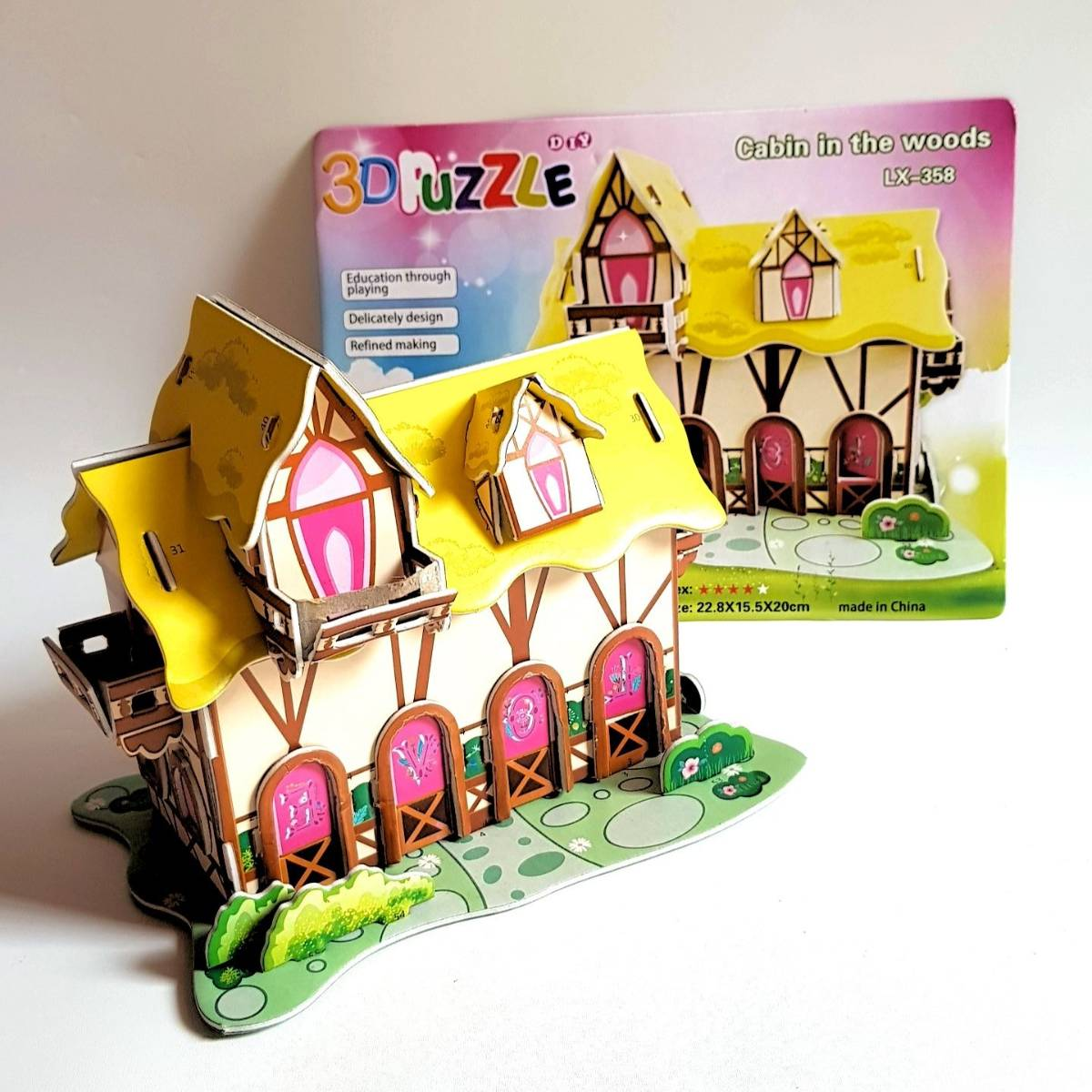 Mainan 3d Puzzle - Cabin In The Woods2
