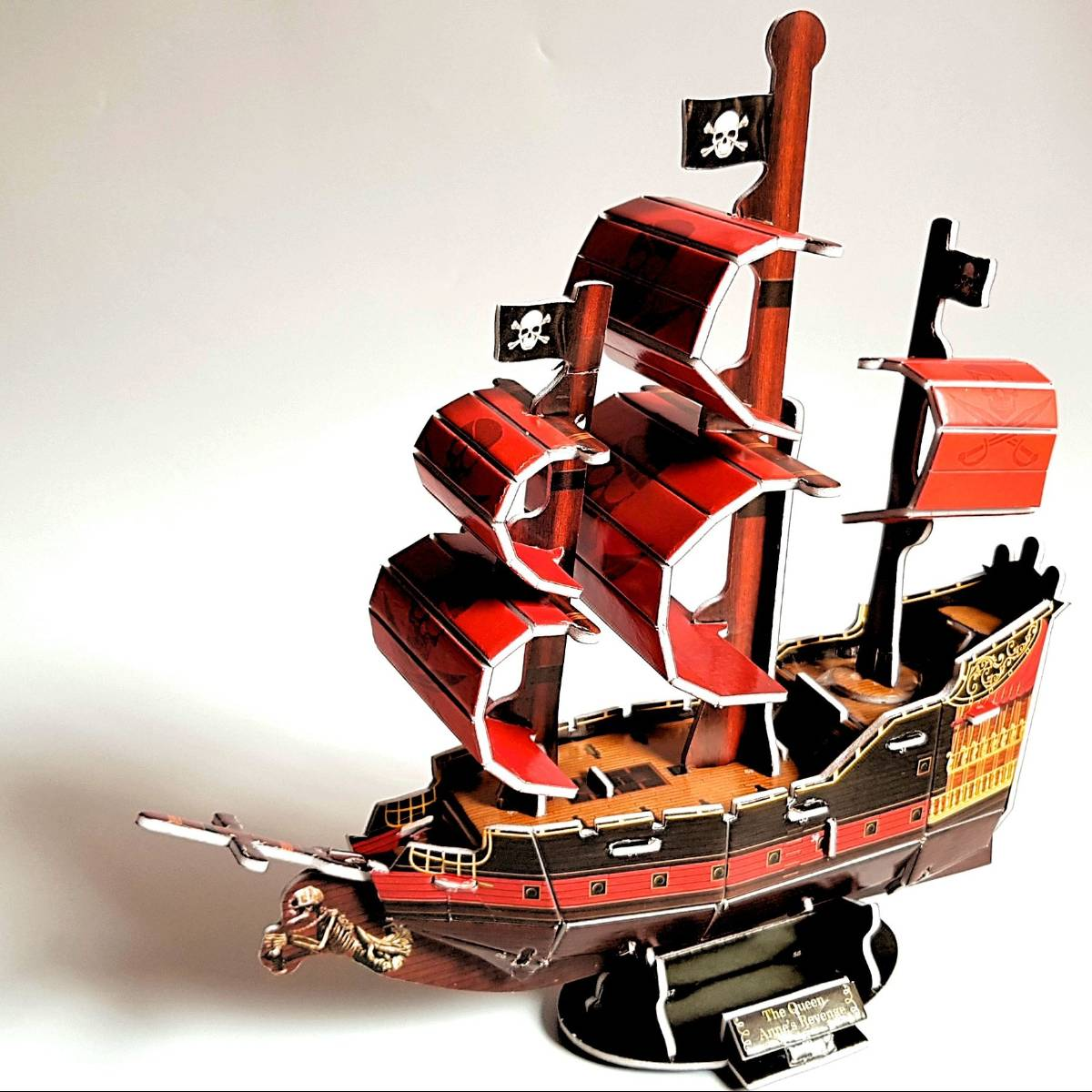 Mainan 3d Puzzle - Pirate Ship2