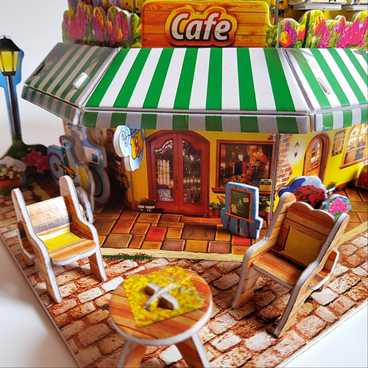 Mainan 3d Puzzle - Cafe2