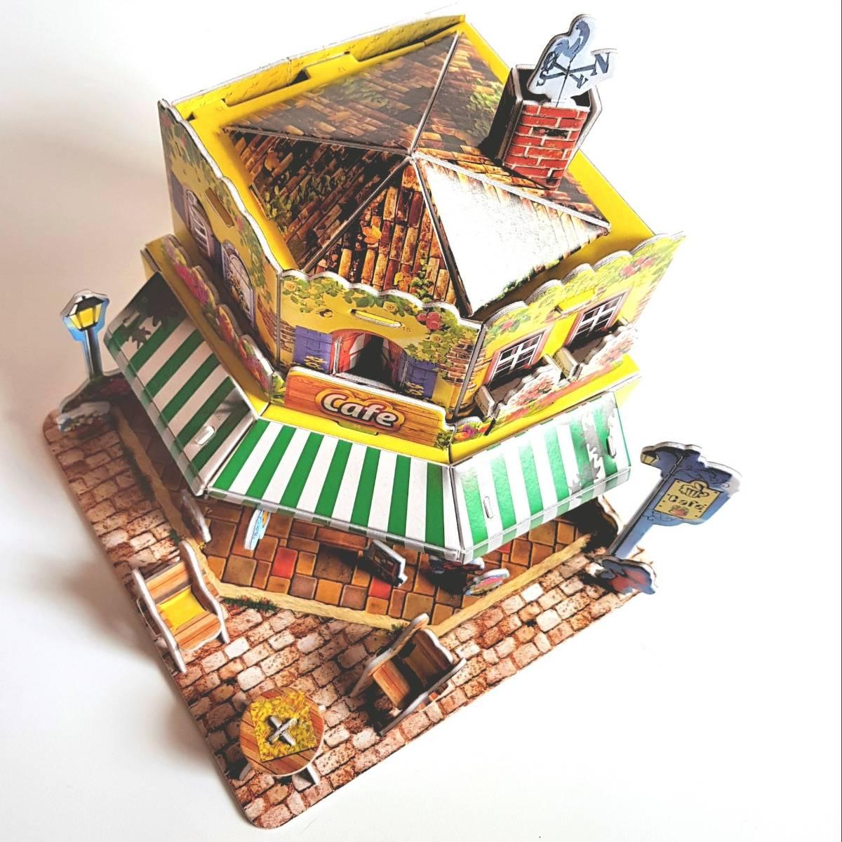 Mainan 3d Puzzle - Cafe3