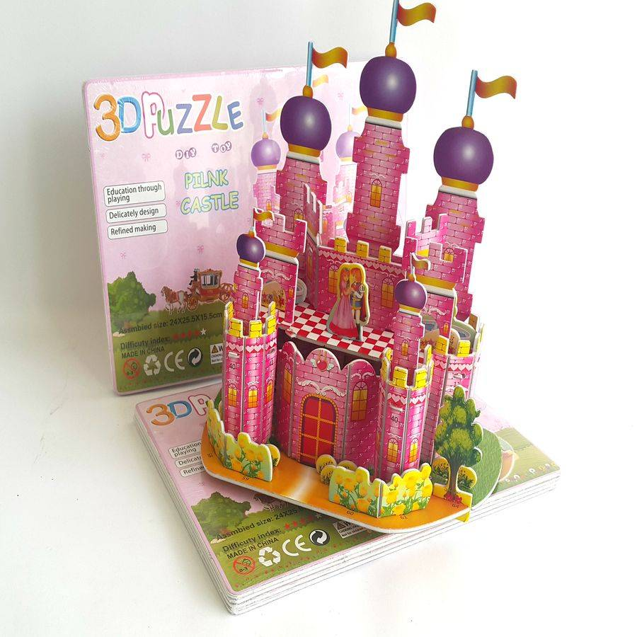 Mainan 3d Puzzle - Princess Castle