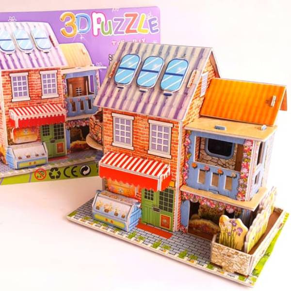 Mainan 3d Puzzle - Store House