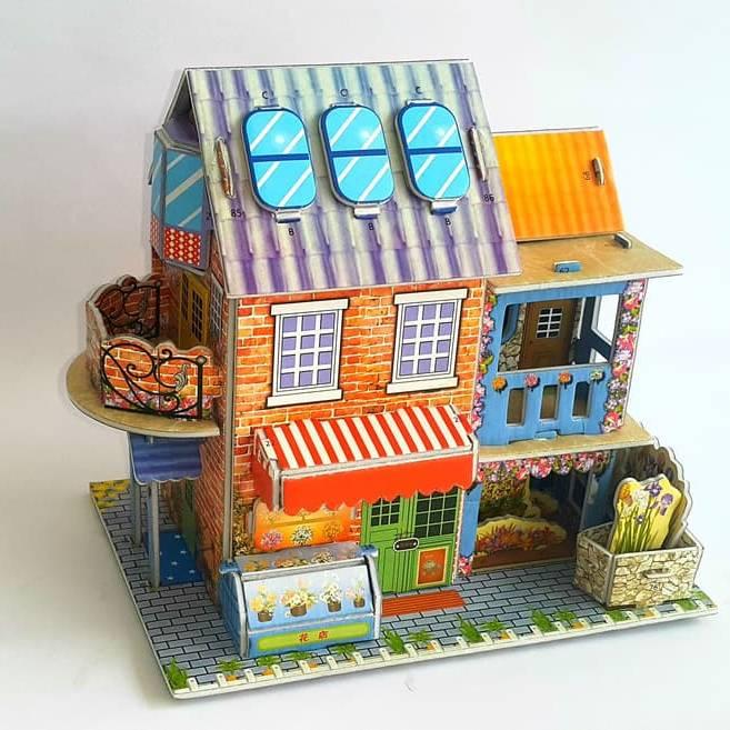 Mainan 3d Puzzle - Store House1
