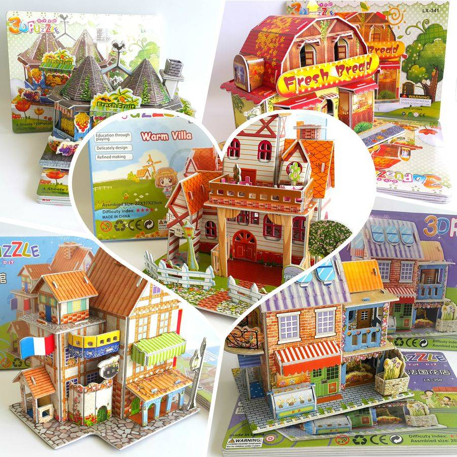 Mainan 3d Puzzle - Store House2
