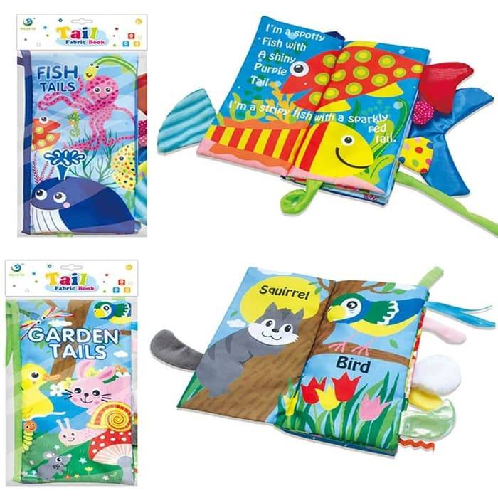 Softbook / Soft Book Anak Buku Kain | Buku Cerita Anak | Cloth Book