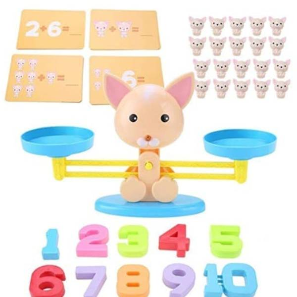 100% Edukatif | Mainan Edukasi Belajar Berhitung Balance Toys0