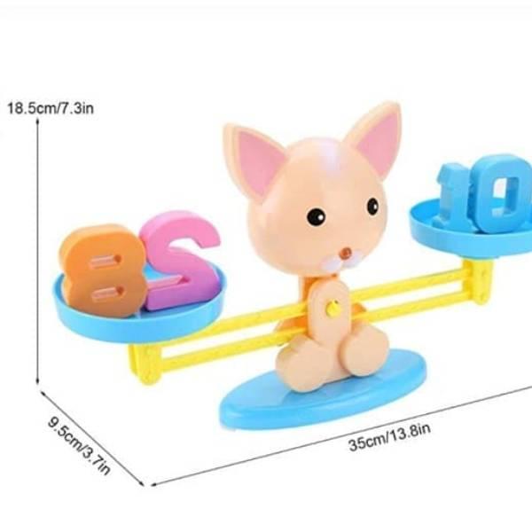 100% Edukatif | Mainan Edukasi Belajar Berhitung Balance Toys1