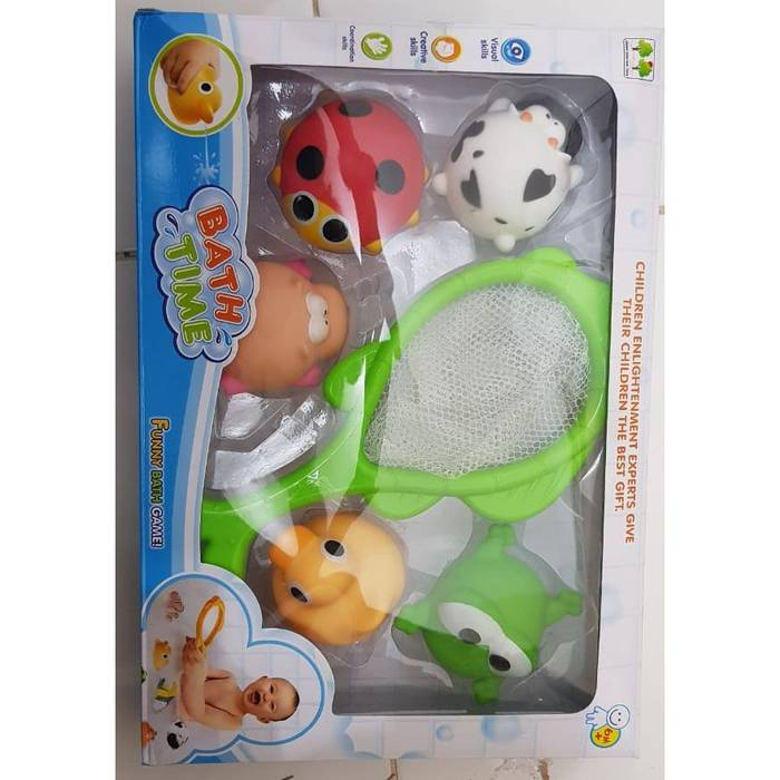 Mainan Mandi Bayi - Funny Bath Time - Bebek Mandi - Bath Toys