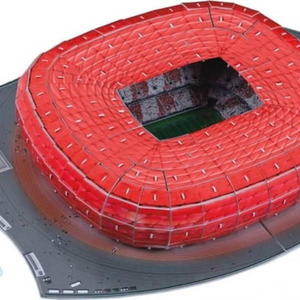 Puzzle Stadium 3D - Allianz Arena - Bayern Munchen0