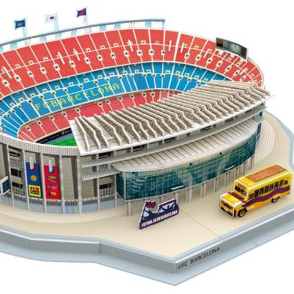 Stadium Puzzle 3D | Nou Camp - Barcelona0