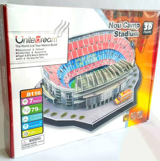 Stadium Puzzle 3D | Nou Camp - Barcelona1