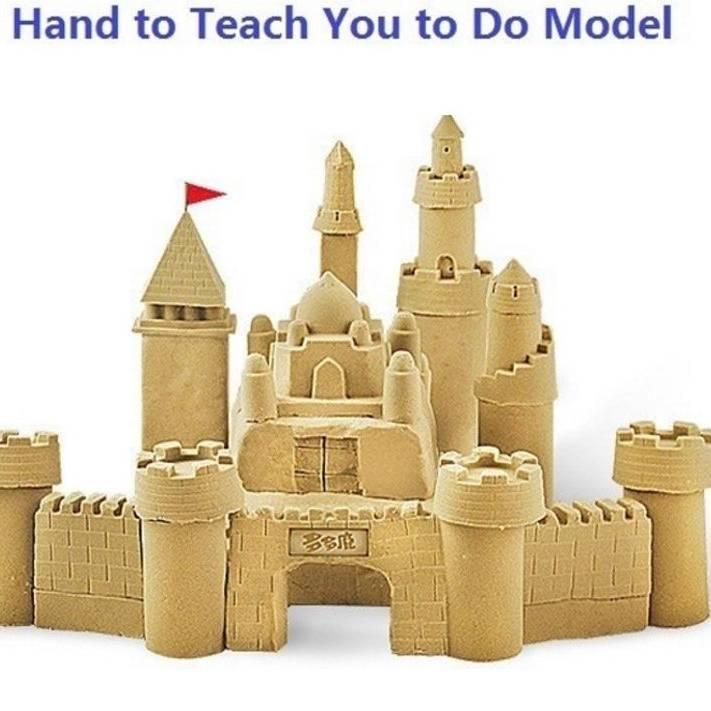 PAKET LENGKAP Pasir Kinetik | Mainan Edukasi Anak Kinetic Sand0