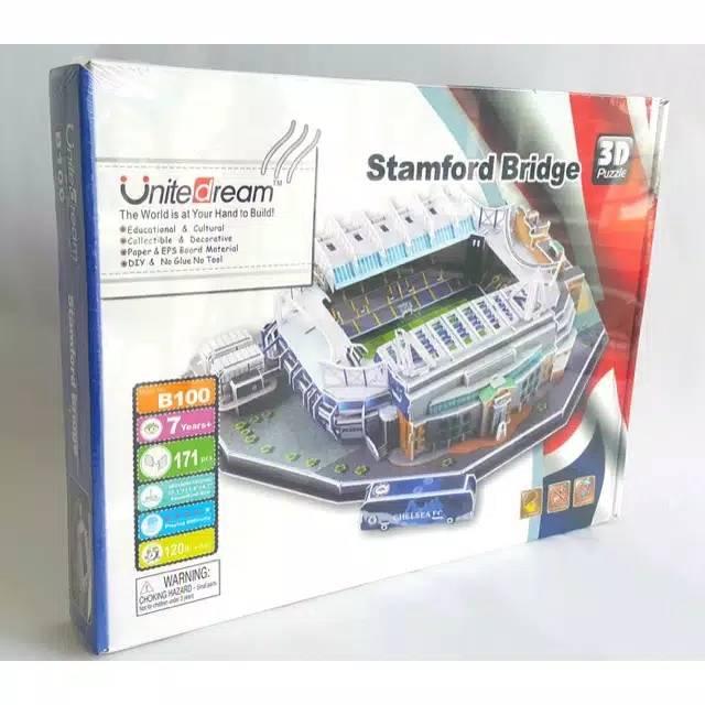 Stadium Puzzle 3D - Stamfford Bridge - Chelsea1