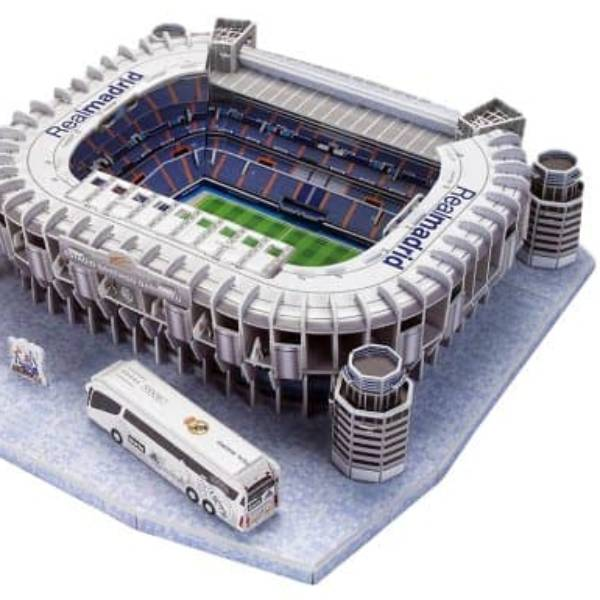 Puzzle 3D Stadium - Santiago Bernabeu - Real Madrid