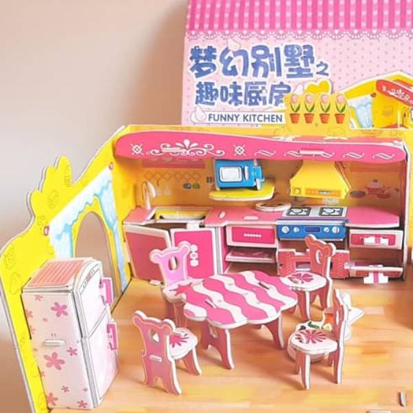 Mainan 3D Puzzle FUNNY KITCHEN1