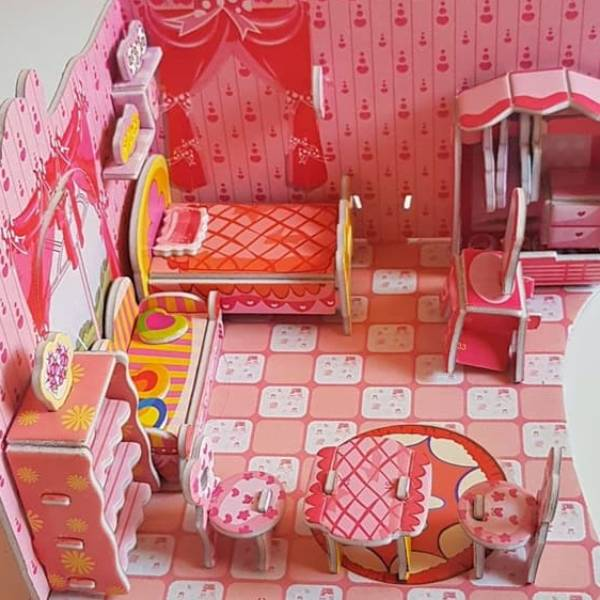 Mainan Anak 3DPuzzle BED TIME1