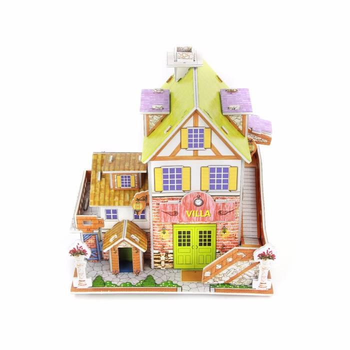 Mainan 3D Puzzle VILLA