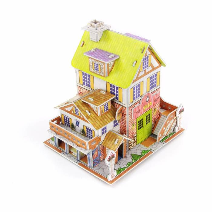 Mainan 3D Puzzle VILLA1