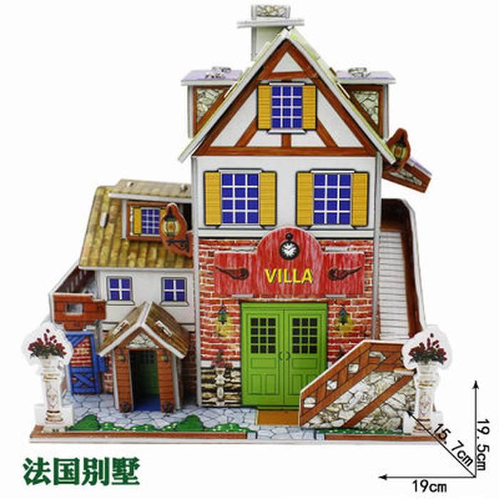 Mainan 3D Puzzle VILLA2