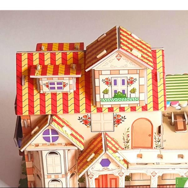 3D Puzzle | EUROPEAN HOUSE