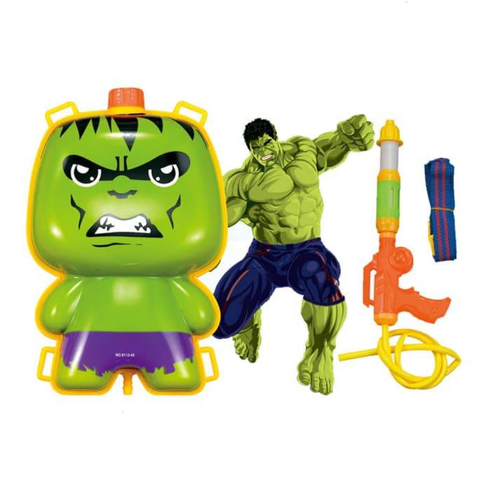 Pistol Air Backpack / Water Gun HULK