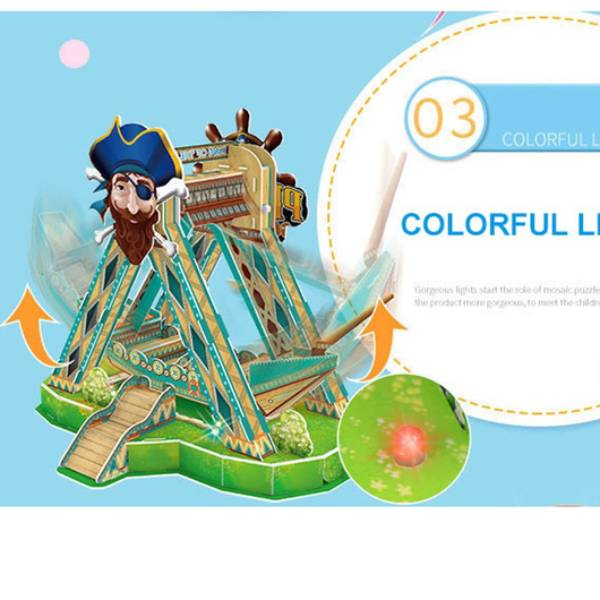 3D Puzzle KORA KORA / Pirate Ship Swing