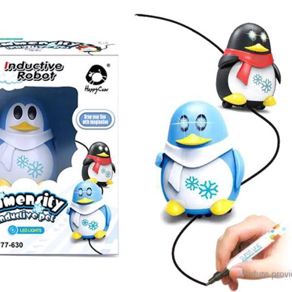 Mainan Edukasi - INDUCTIVE PENGUIN / PINGUIN Mengikuti Garis Spidol