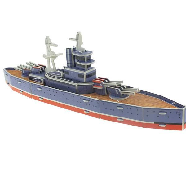 Mini Puzzle 3D | BATTLE SHIP | Puzzle 3 Dimensi Kapal Laut - 1690-22