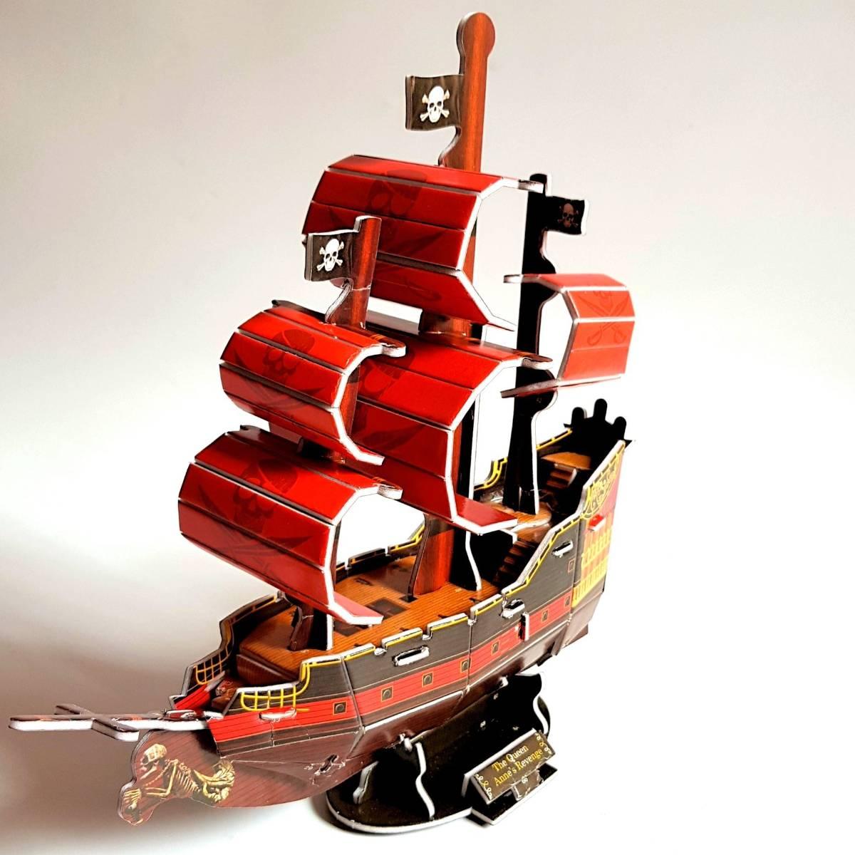 Mainan 3d Puzzle - Pirate Ship1