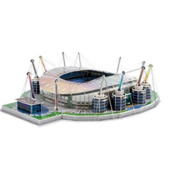 Puzzle Stadium MANCHESTER CITY - ETIHAD STADIUM | Miniatur Stadium0