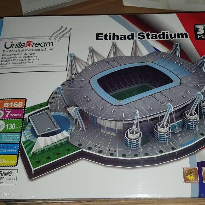Puzzle Stadium MANCHESTER CITY - ETIHAD STADIUM | Miniatur Stadium1