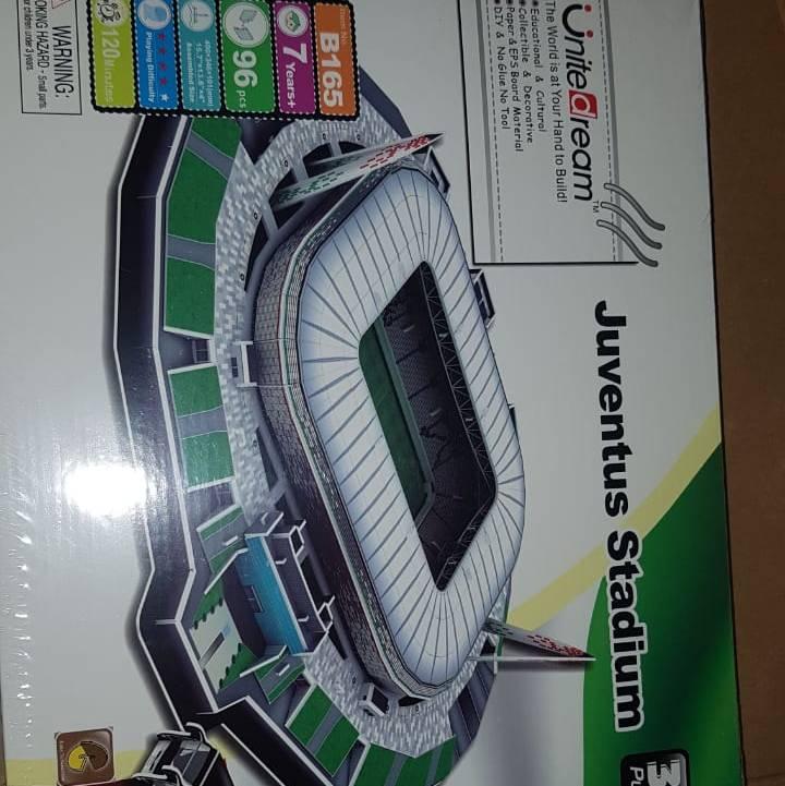3D Puzzle Stadium   JUVENTUS - ALLIANZ STADIUM   Miniatur Stadium1