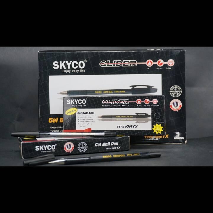 Pulpen / Pen Skyco Onyx Black Per Gross1