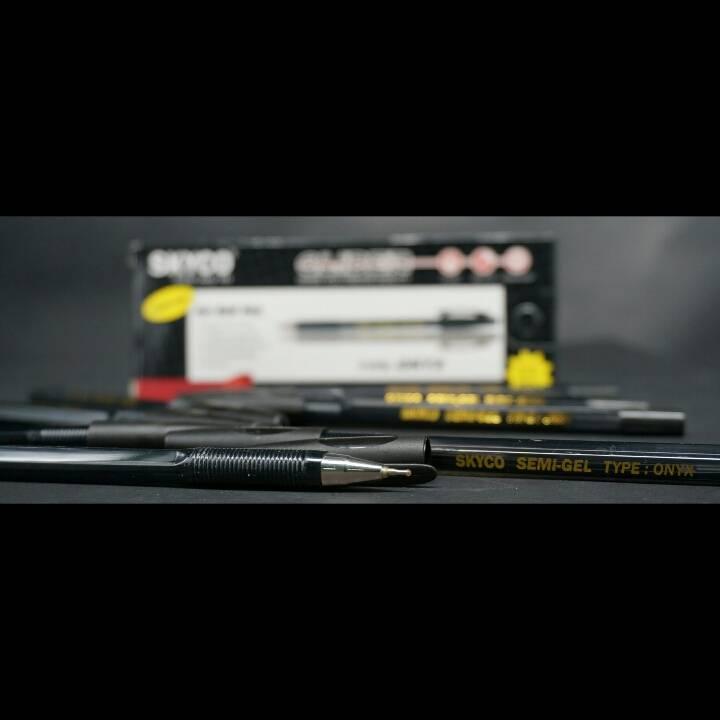 Pulpen / Pen Skyco Onyx Black Per Gross4