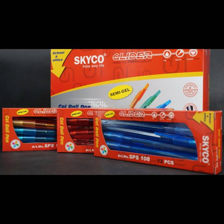 Pulpen / Pen Skyco Sps 108 Per Gross