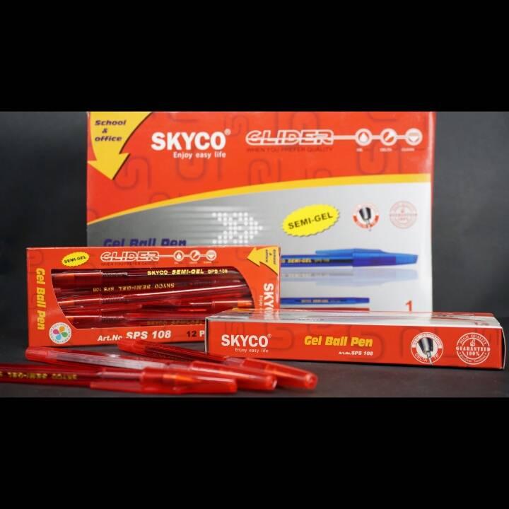Pulpen / Pen Skyco Sps 108 Per Lusin0