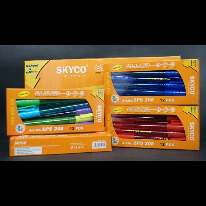 Pulpen / Pen Skyco Sps 208 Per Gross