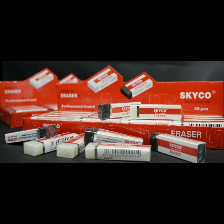Penghapus / Stip / Eraser Skyco Fresh B Per Box